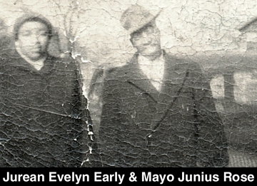 Mayo Junius Rose and Jurean Evelyn Early of Wingina, Nelson, VA