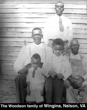 The Woodson family of Wingina, Nelson, VA